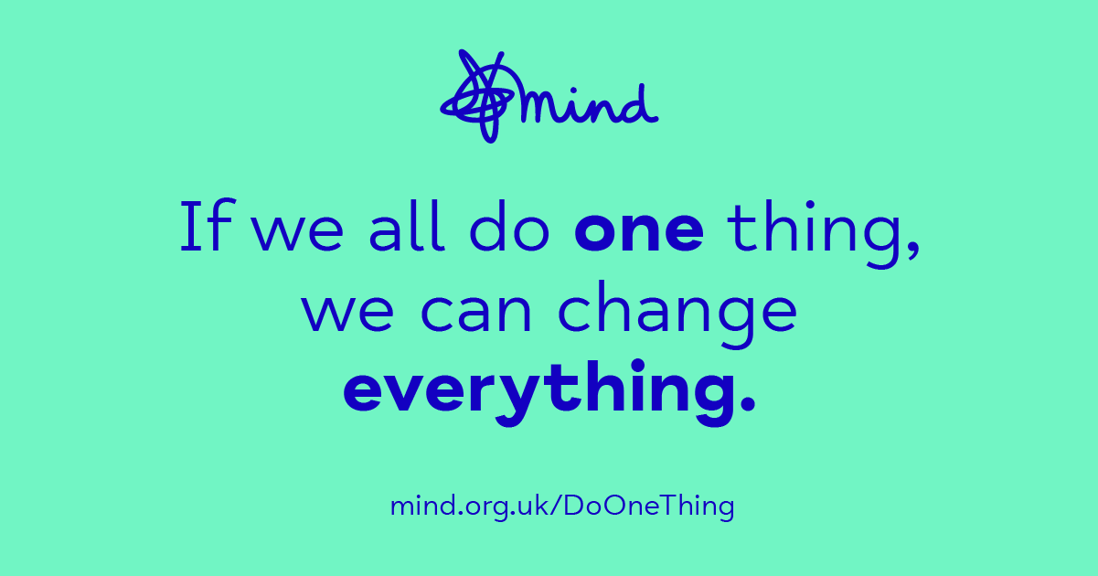 If we all do one thing, we can change everything