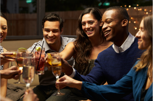Staying together on night out