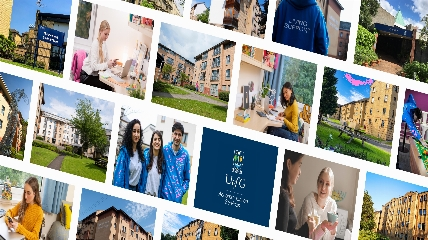 collage of images of accommodation