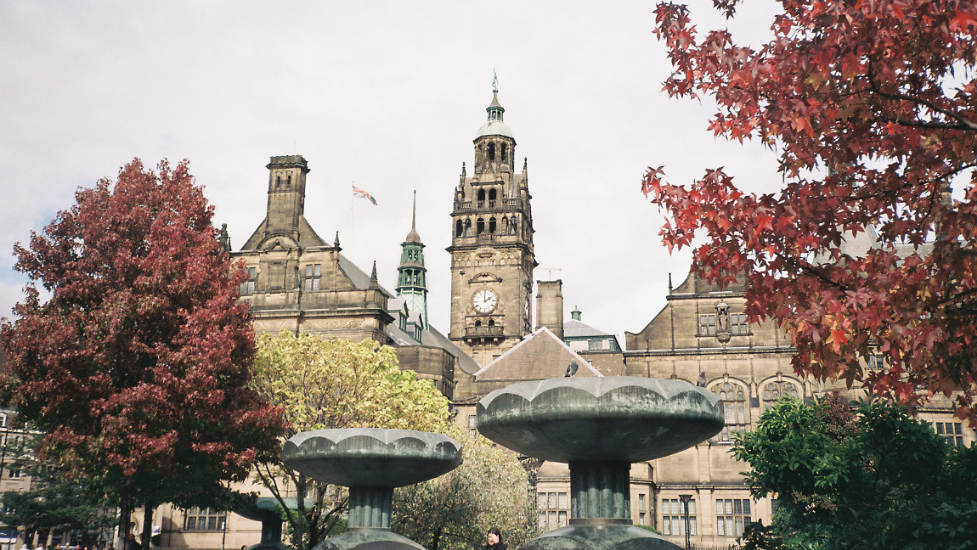 Sheffield town centre